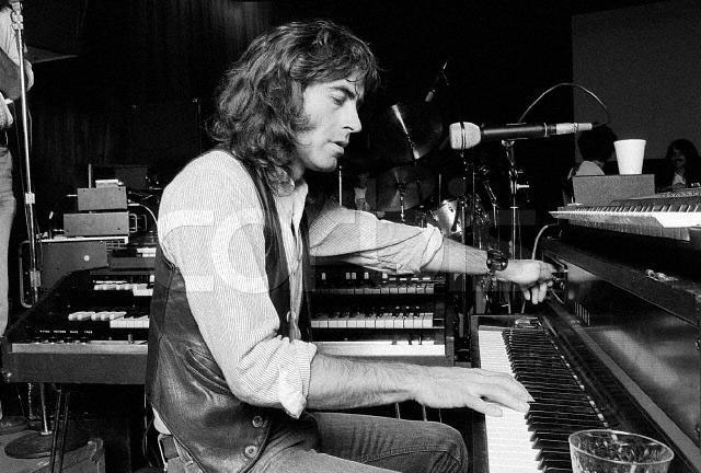 Pete Sears at Piano with Jefferson Starship, October 18, 1979 Golden Gate Park