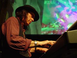 Pete Sears on Piano at The Fillmore, San Francisco, CA