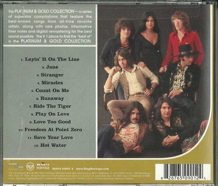 "2003. Jefferson Starship ""Platinum Gold Collection""."