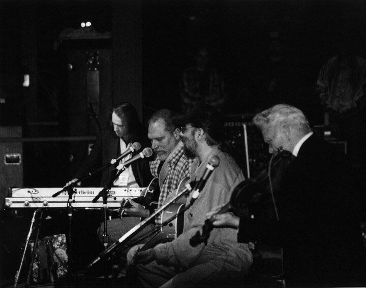 1999. Jorma Kaukonen Trio with special guest, the great Vassar Clements on fiddle. — with Jorma Kaukonen, Michael Falzarano, Pete Sears, and Vassar Clements.