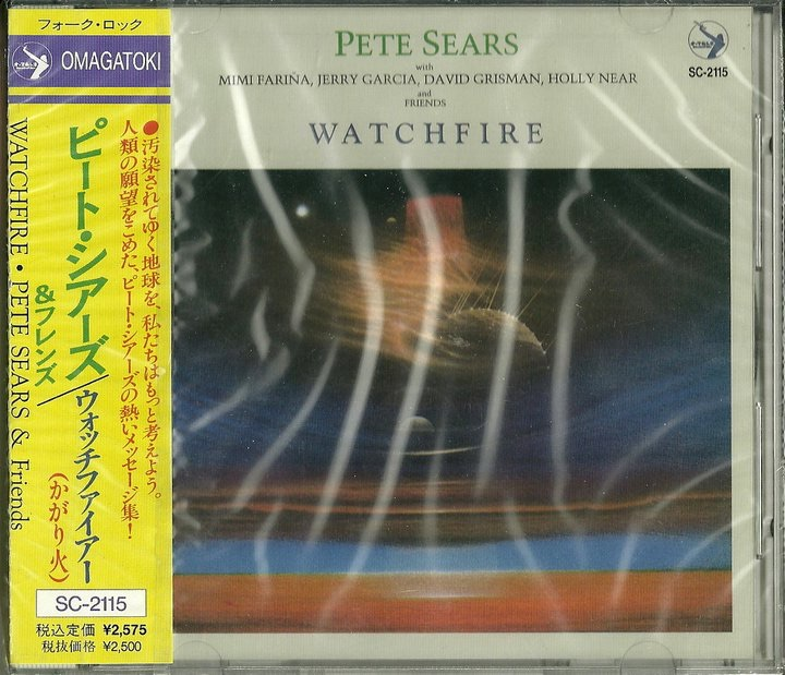 "2000. Pete Sears ""Watchfire"" released in Japan."