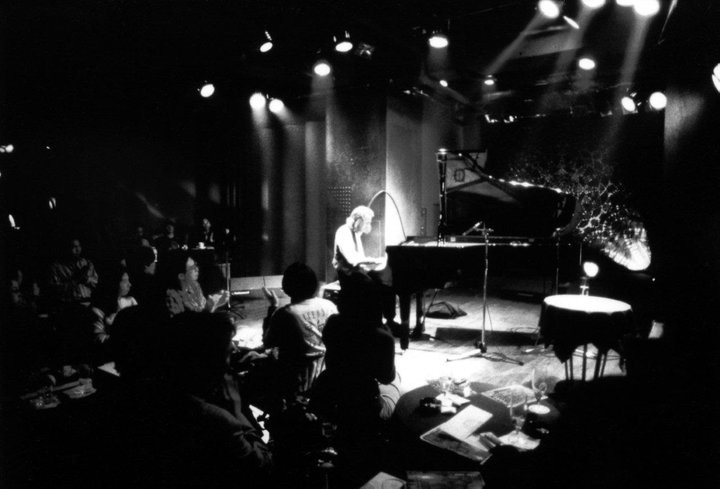 2000. Pete Sears solo piano concert at a Jazz Club in Tokyo, Japan.