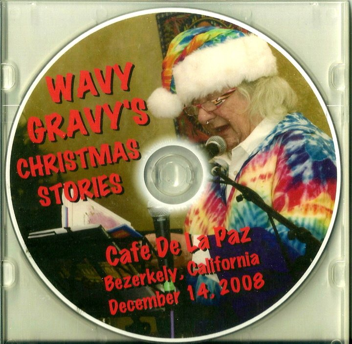 2008. DVD. December 14th. Wavy Gravy's Christmas Stories, with Pete Sears on piano improvisation.