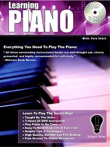 "2007. ""Learning Piano with Pete Sears"". I forgot to put this in the mix. It's the learning piano 3 hr DVD that I showed earlier...but I've added a book to go along with the DVD."