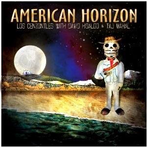 "2009. ""American Horizons"" Los Cenzontles, David Hidalgo, Taj Mahal, Pete Sears."