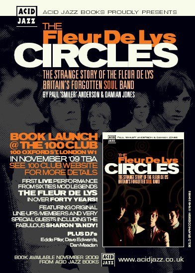"2009. ""CIRCLES"" A book is written about ""Fleur de Lys"", the band Pete Sears played with in 1966. Written by Paul ""Smiler"" Anderson & Damien Jones."