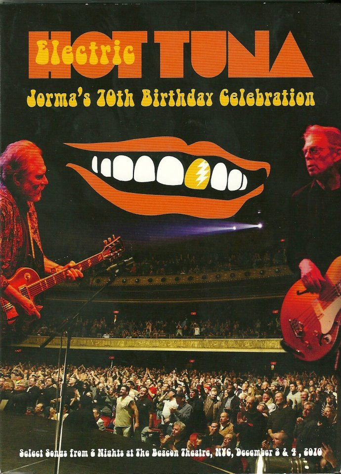 2012. April. DVD release of Jorma Kaukonen's 70th birthday. Pete Sears played piano on the second day. December 4th.
