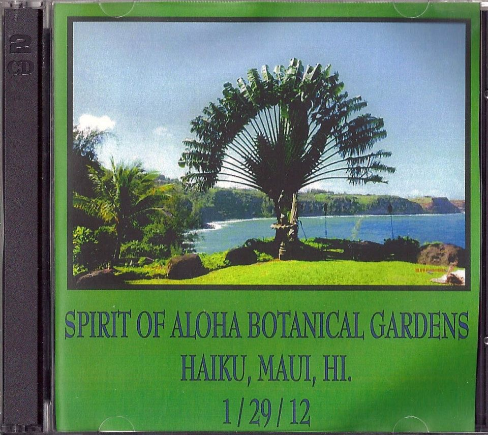 "January 2012. David Nelson Band."" Spirit of Aloha Botanical Gardens"", Maui, Hawaii. Pete Sears played bass."
