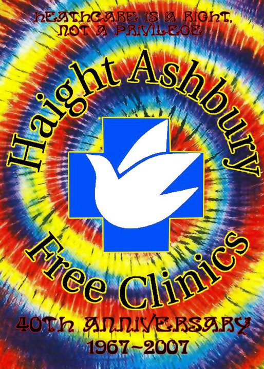 "2007.""Haight Ashbury Free Clinic"" Benefit album."