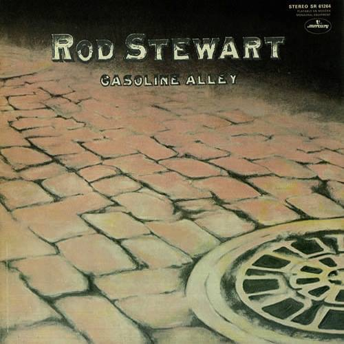 "1970. ""Gasoline Alley"" First of four early solo Rod Stewart albums Pete Sears would play on. Mostly on Piano, but a little bass as well."