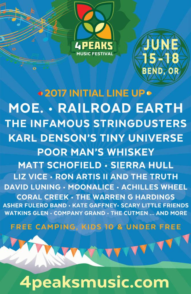 4 Peaks Music Festival 2017