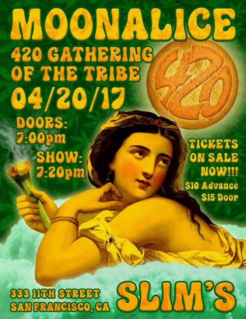 Moonalice 420 Gathering of the Tribe