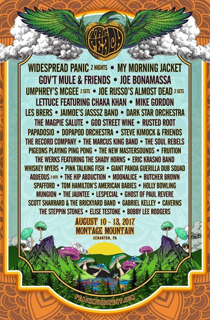The Peach Music Festival 2107