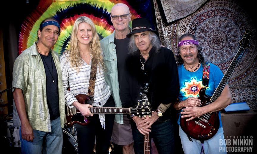 Katie Skene (Guitar, Vox), Barry Sless (Guitar, Pedal Steel), John Molo (Drums, Vox), Pete Sears (Bass, Vox), Rob Barraco (Keys, Vox)