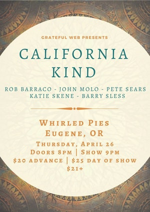 California Kind at Whirled Pies